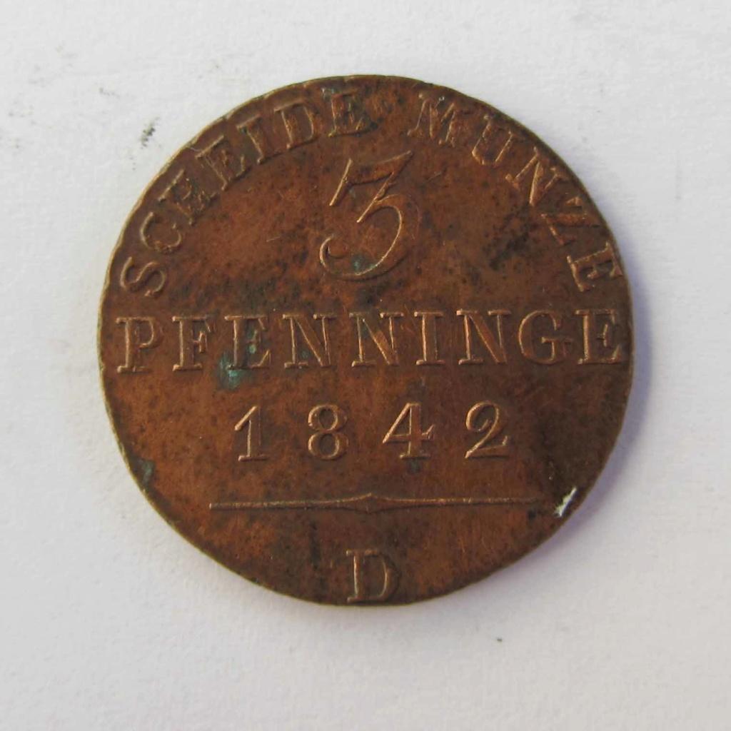 3 Pfenninge Prusia 1842 3_pfen13