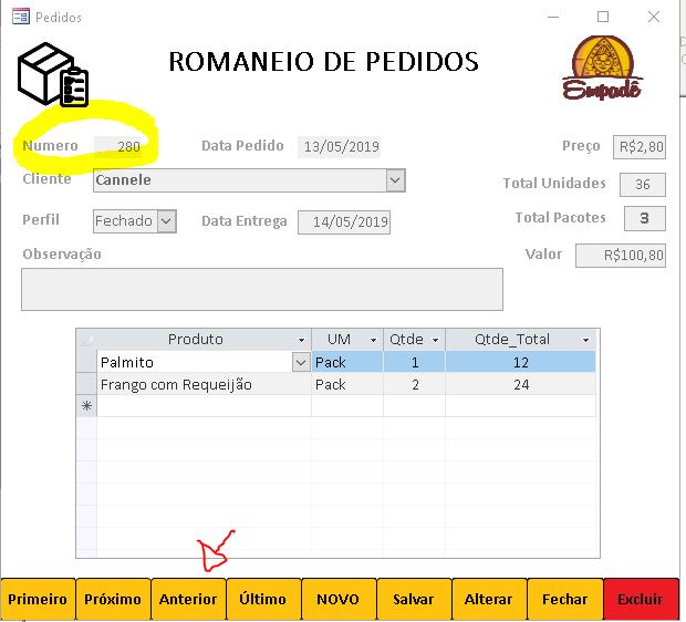 [Resolvido]Navegação de Registros Romane10