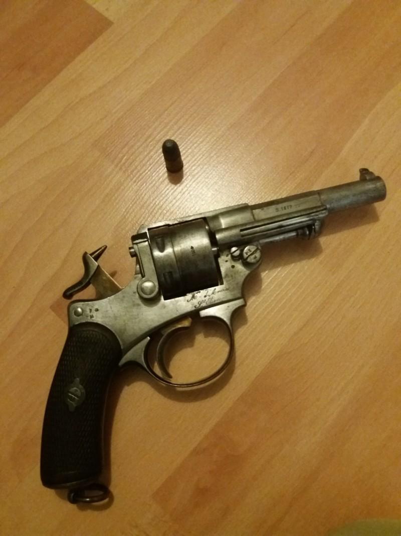 Pistolet Mle 1873 20190614