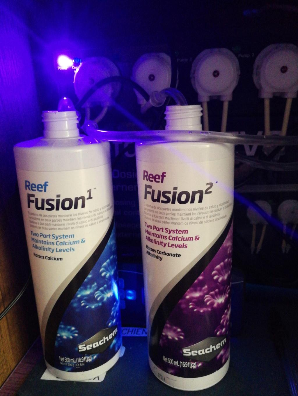 Supplementation seachem reef fusion 1 et 2  15859910