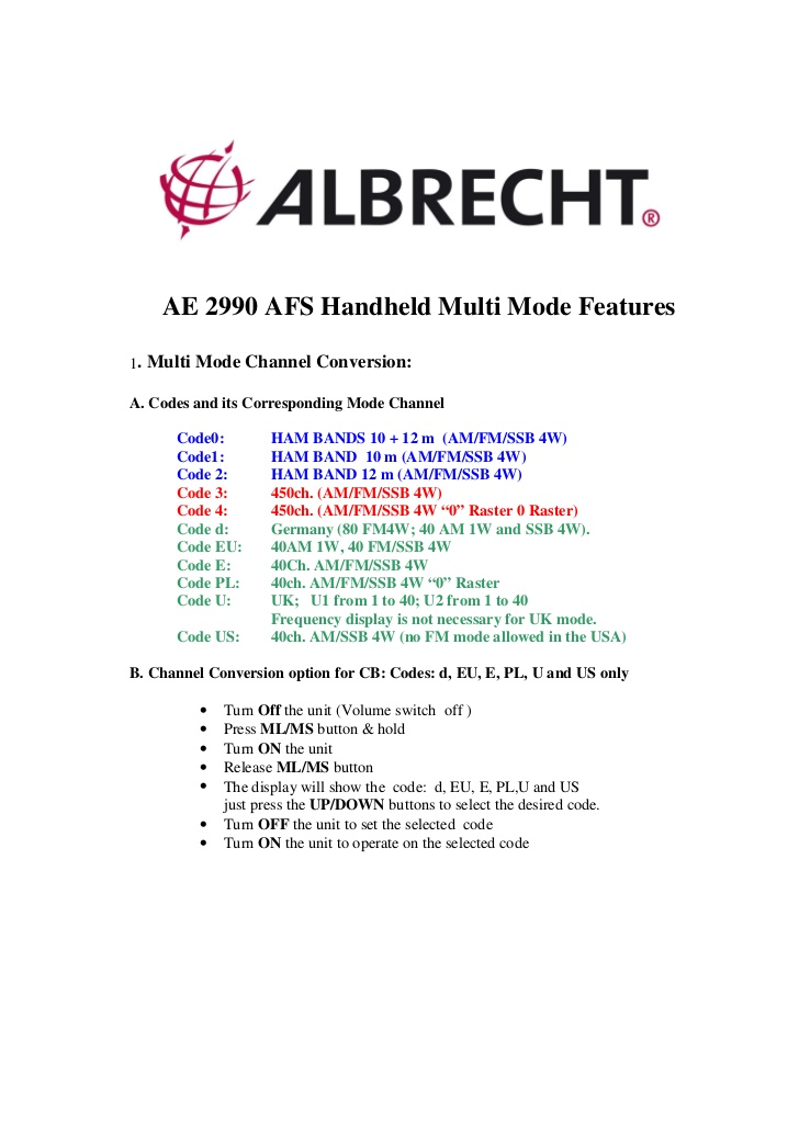 radio - Albrecht AE2990 AFS 10/11/12m Handheld Radio Manual and mods How-to10