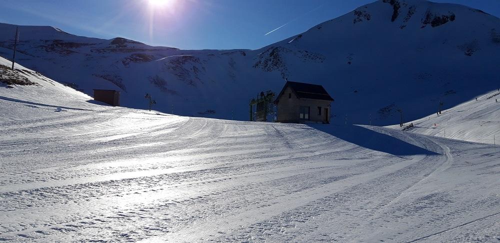 Spot de snowkite proche de Clermont-Ferrand 20191211