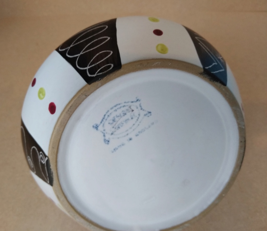 Denby 50s abstract pattern trial piece? Unk110