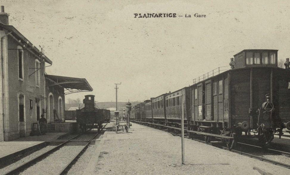 La gare de Plainartige La_gar10