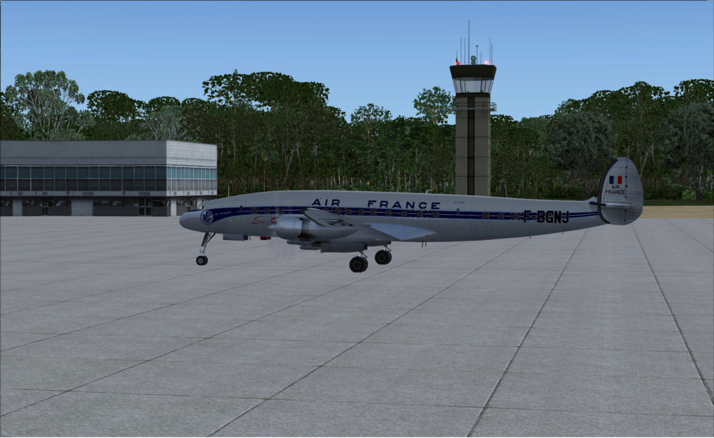 Le Lockheed Constellation à Santa Maria Les Açores 2019-910