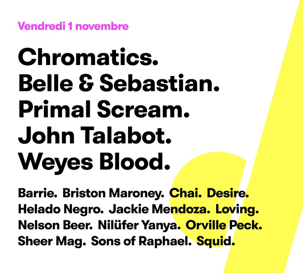 Vendo 2 entradas Pitchfork Festival París (1 Nov) Screen10