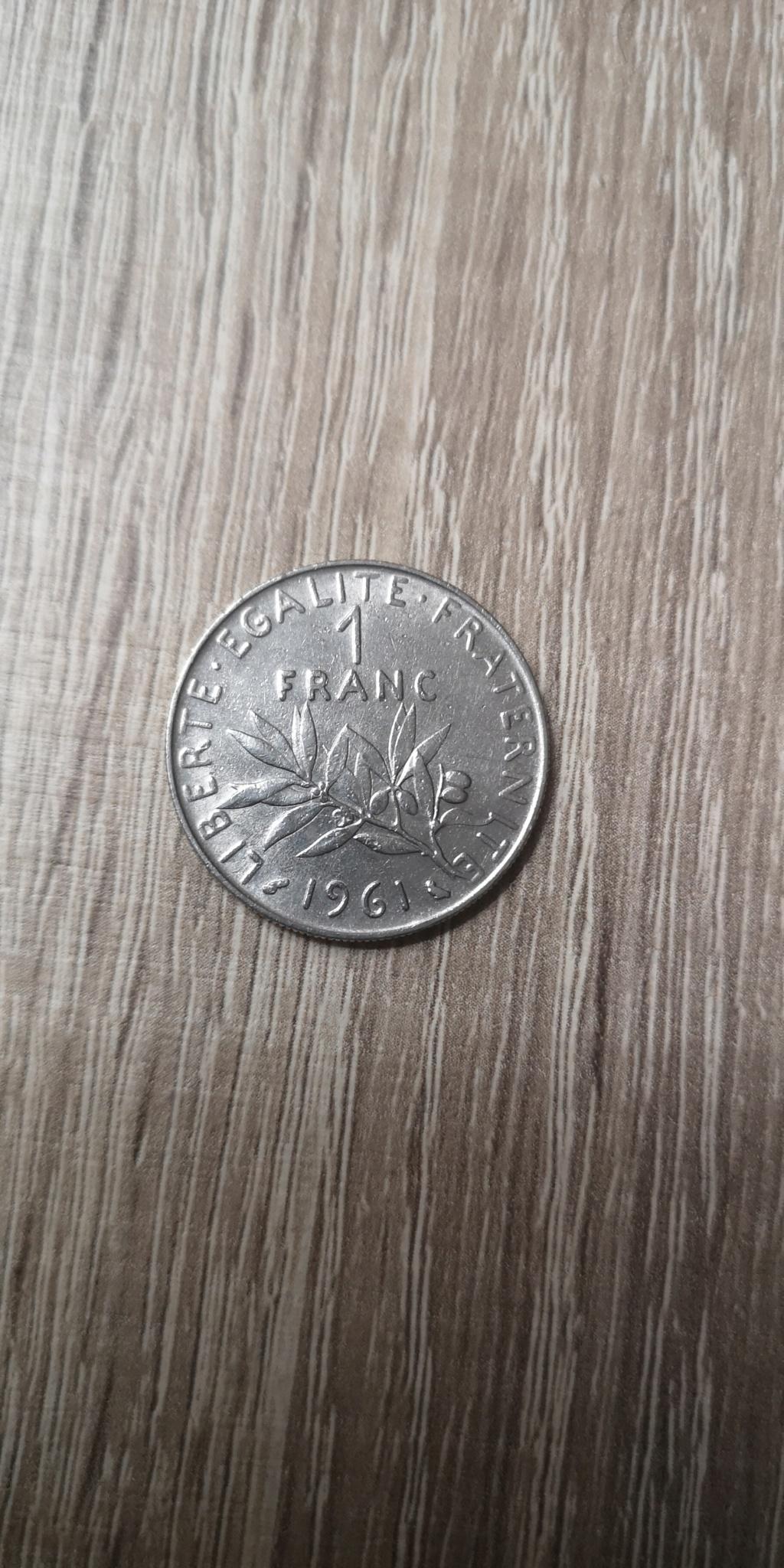 1 Franco de 1961. República Francesa. Img_2031