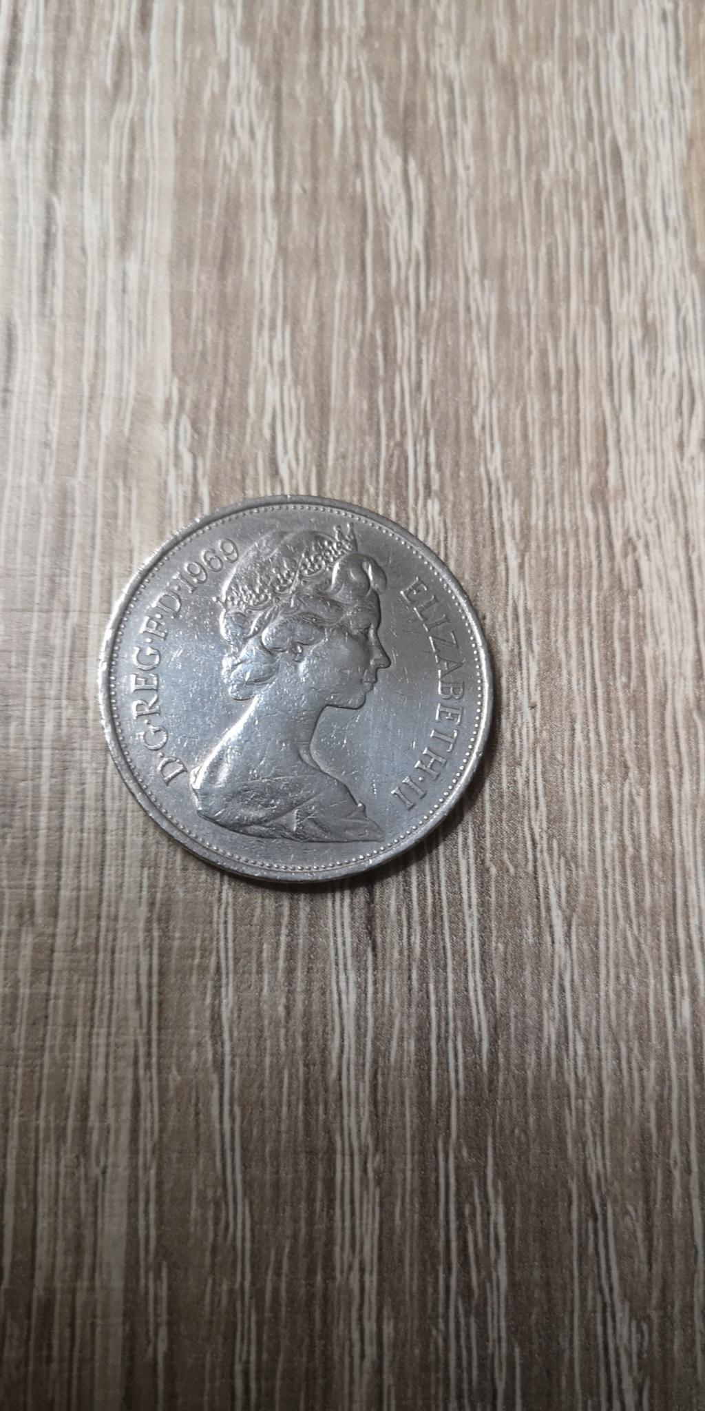 10 New Pence 1969. Reino Unido. Isabel II. Img_2036