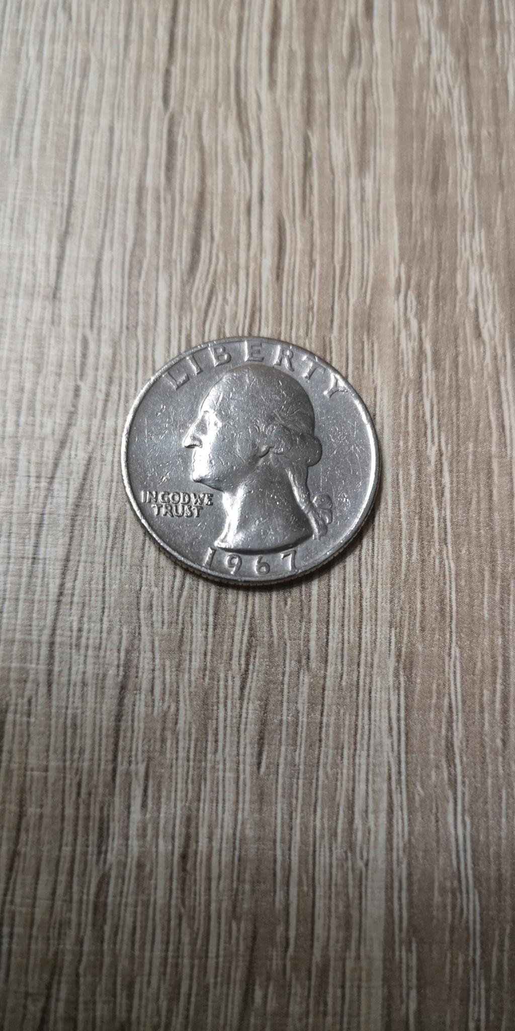 Quarter Dolar 1967. Estados Unidos. Img_2039