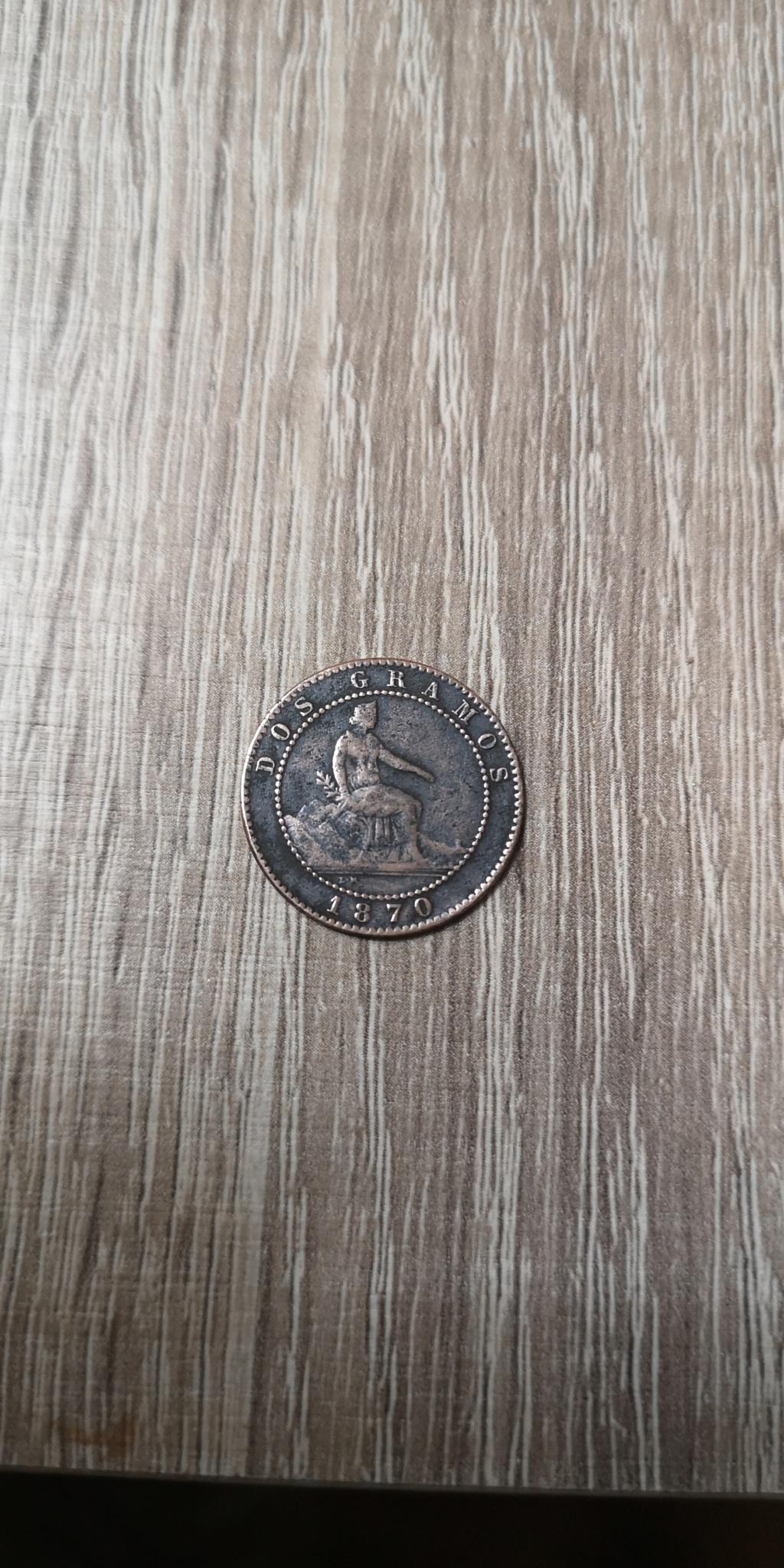 2 céntimos 1870. Gobierno Provisional Img_2041