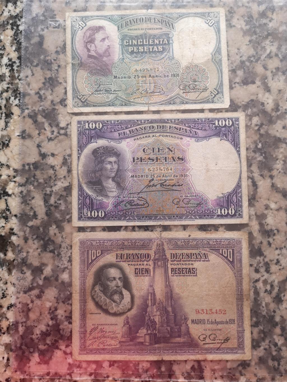 Hola, colección de billetes españa Img_2059