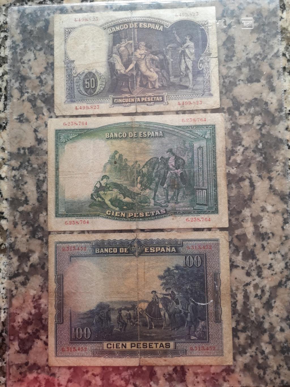 Hola, colección de billetes españa Img_2060