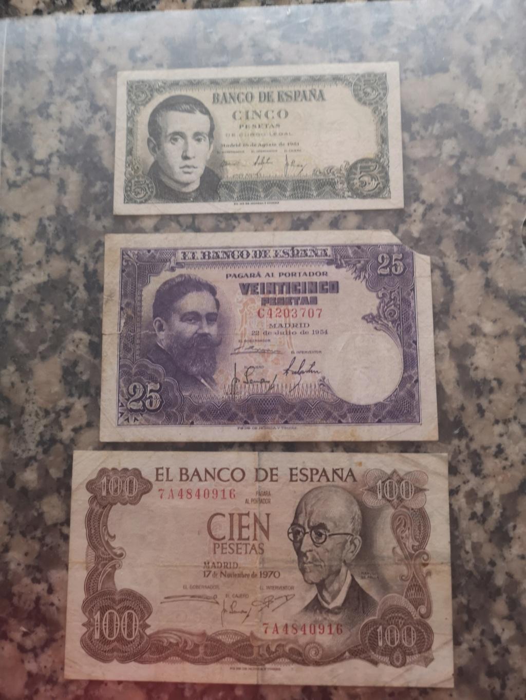 Hola, colección de billetes españa Img_2061
