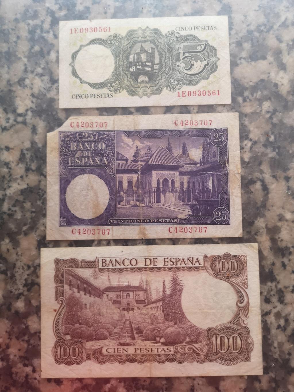 Hola, colección de billetes españa Img_2062