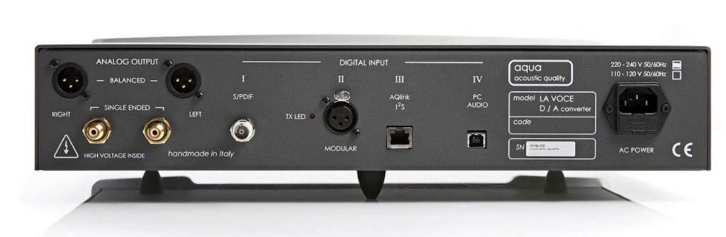 DAC AQUA La Voce : Conectar PC al DAC mediante I2S Captur10