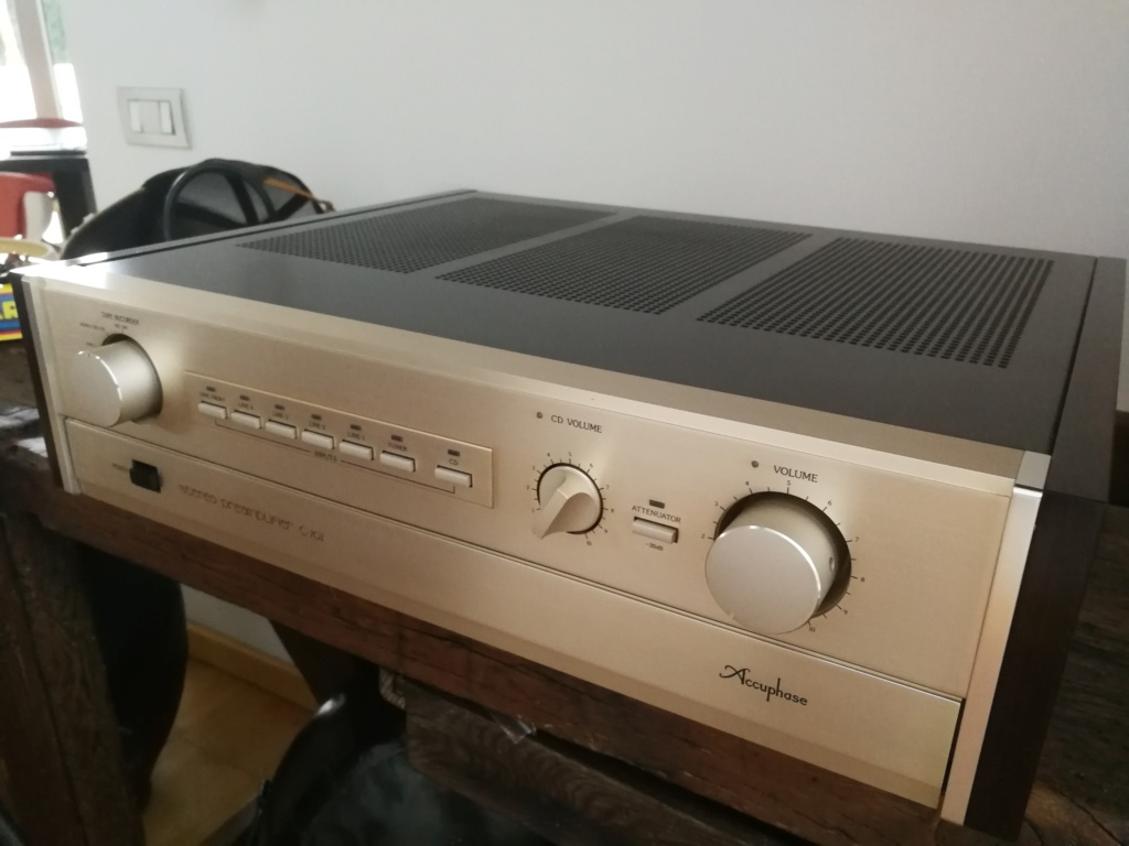 PREAMP ACCUPHASE C-202. OPINIONES Img_2028