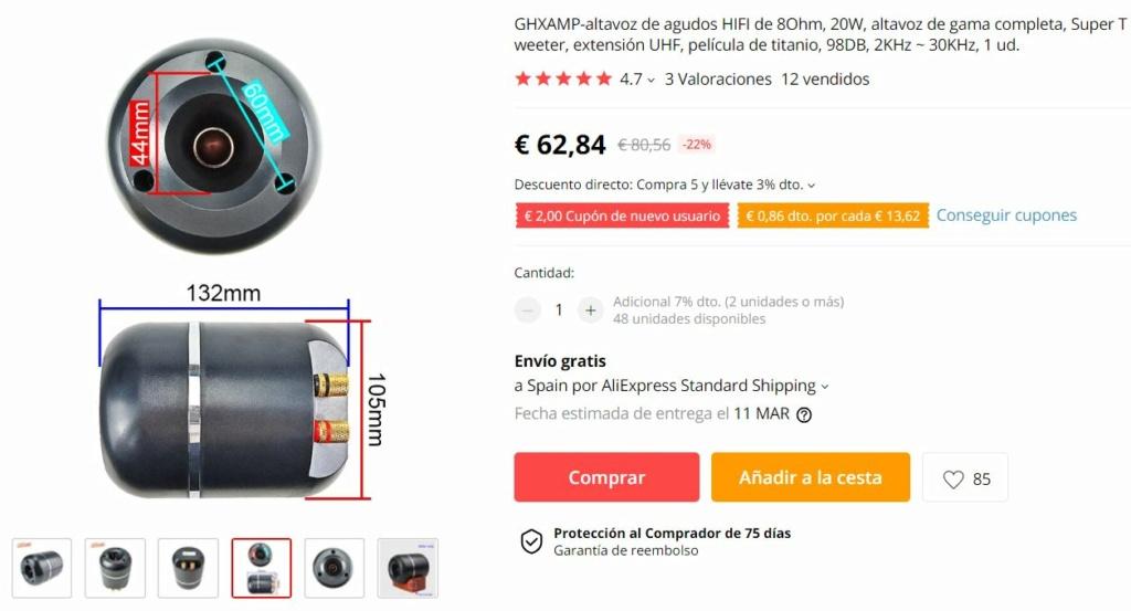 """Proyecto Open Baffle Lii Audio - F15"""" Supert10"""