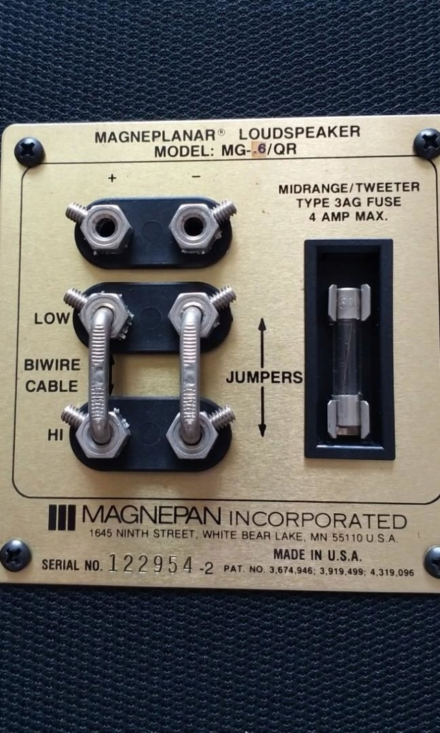Magnepan MG0.6qr ribbon planar speaker (used) RESERVED Magnap12