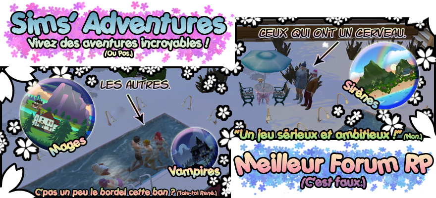+ Sims' Adventures - Roleplay +