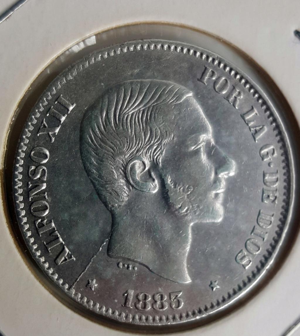50 Centavos Peso 1883. Alfonso XII. Filipinas. Opinión 50ctsp10