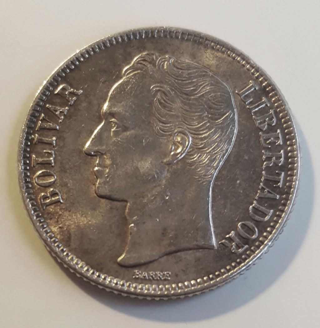 Bolívar de 1954. Venezuela. Una alegría en el fondo de la caja Boliva10