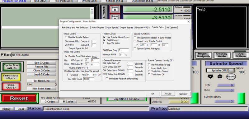 [Résolu] CNC Makko : Mach3 commande à nouveau la broche - Page 2 Captur15