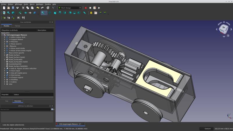Loco « électrique » en 3D pour le train en bois BRIO - Page 4 Captur25
