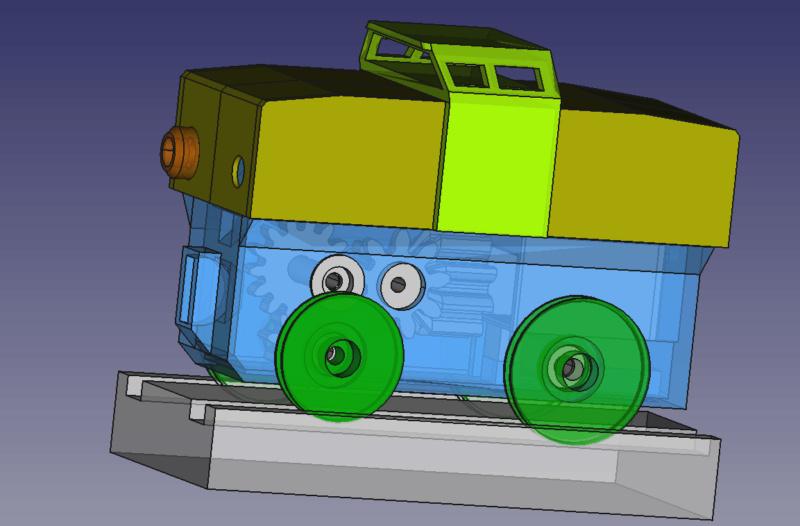 Loco « électrique » en 3D pour le train en bois BRIO - Page 5 Captur39