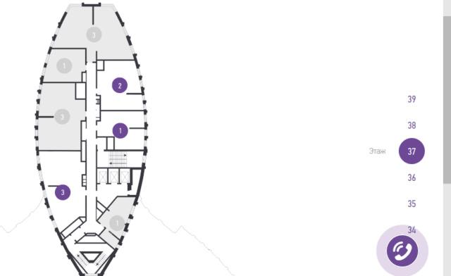 """Квартирография ЖК """"Крылья"""": состав (каких больше по комнатности), сколько квартир на площадке, угловые и другое E10"""
