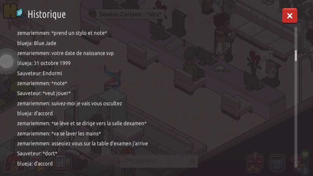 [C.H.U] Rapports d'actions RP de Zemariemmen Scree204