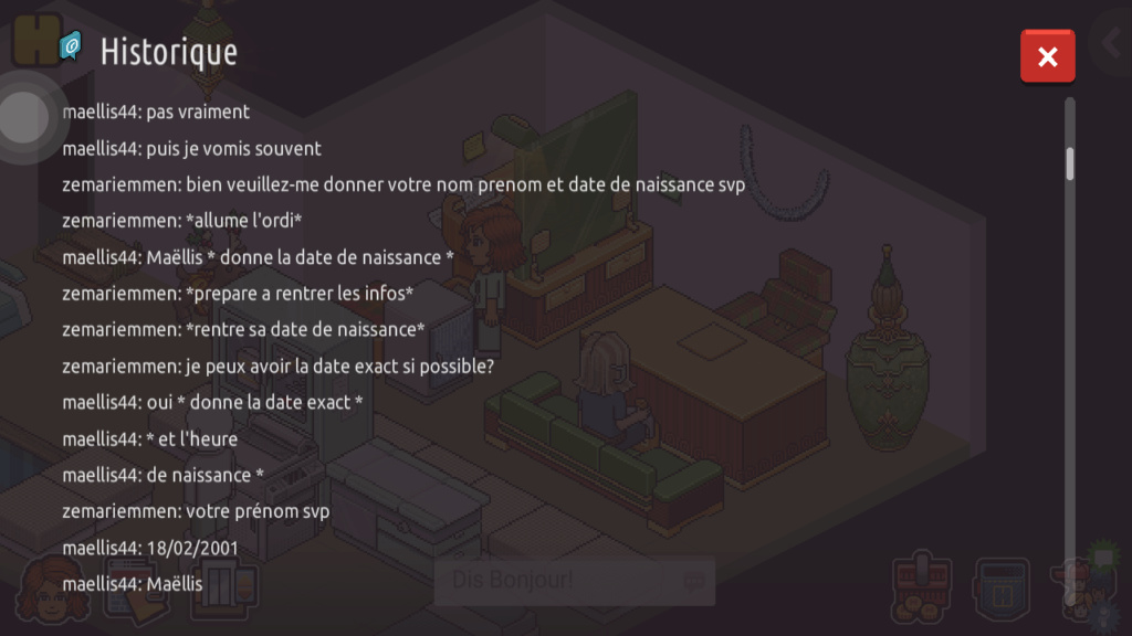 [C.H.U] Rapports d'actions RP de Zemariemmen Screen68
