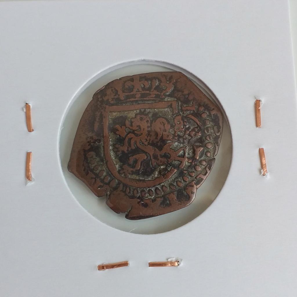 VIII maravedís resellados + 2 piezas falsas de época de Felipe IV. 20210412
