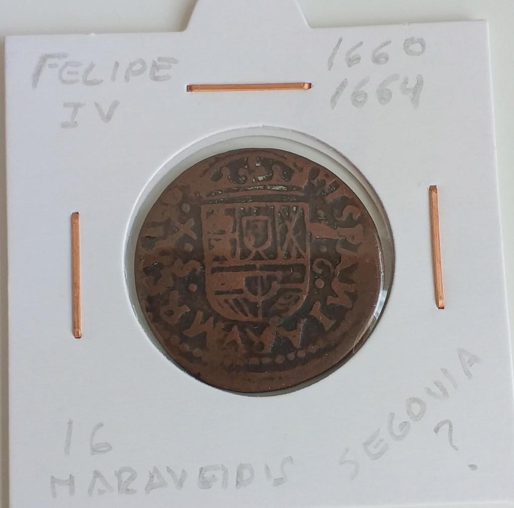 VIII maravedís resellados + 2 piezas falsas de época de Felipe IV. 20210415