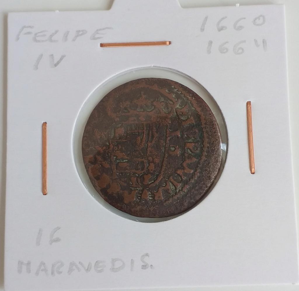 VIII maravedís resellados + 2 piezas falsas de época de Felipe IV. 20210416