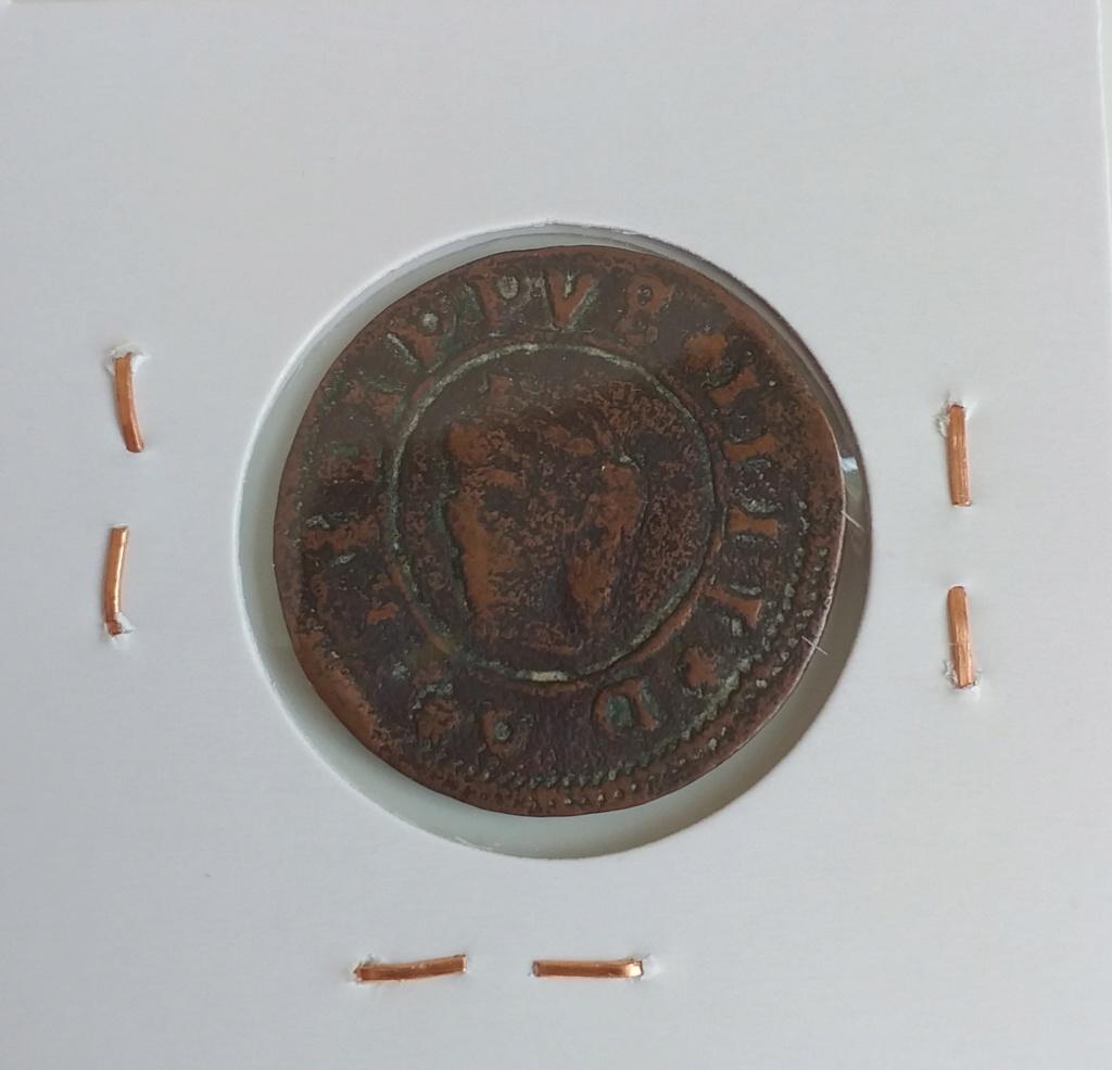 VIII maravedís resellados + 2 piezas falsas de época de Felipe IV. 20210417