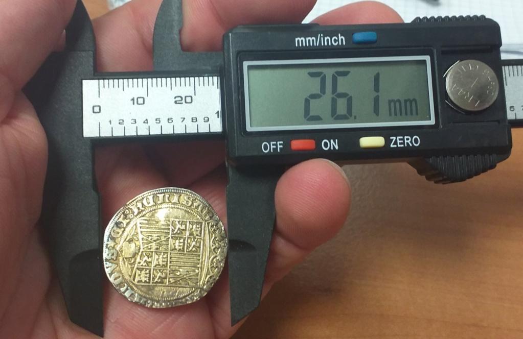 Duda moneda Reyes Catolicos. 20210812