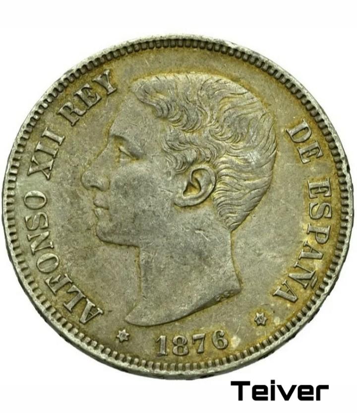 Limpiar estas 5 pesetas de plata. Picsar13