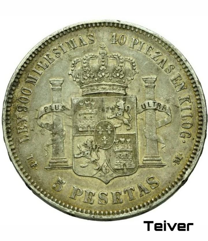 Limpiar estas 5 pesetas de plata. Picsar14