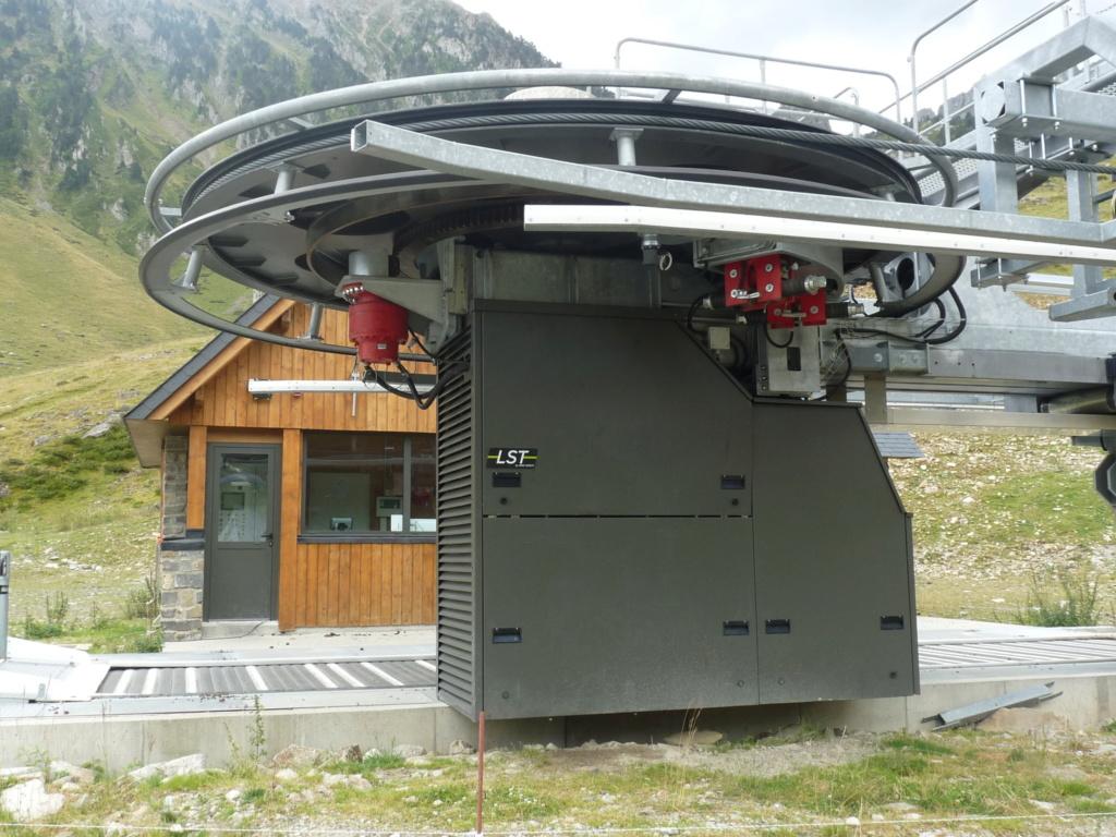 Télésiège fixe 4 places (TSF4) Sapins, la Mongie - LST P1080819