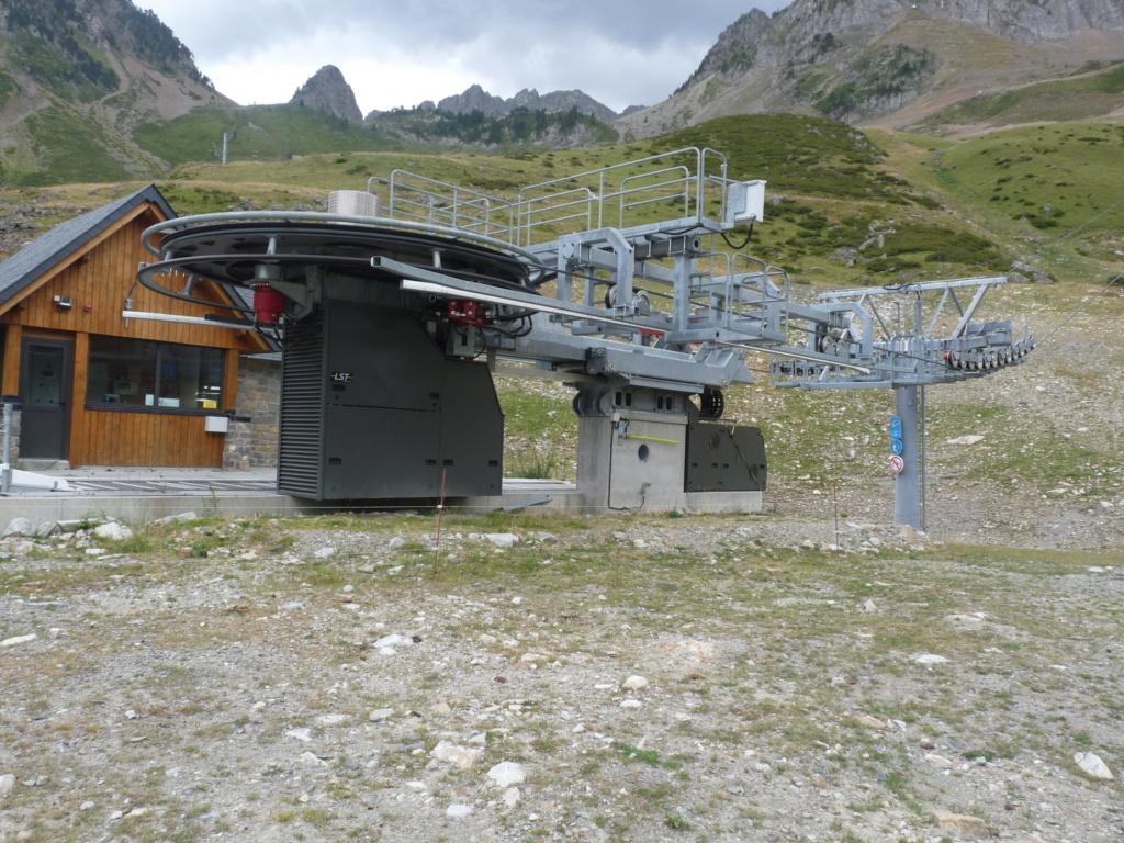Télésiège fixe 4 places (TSF4) Sapins, la Mongie - LST P1080820