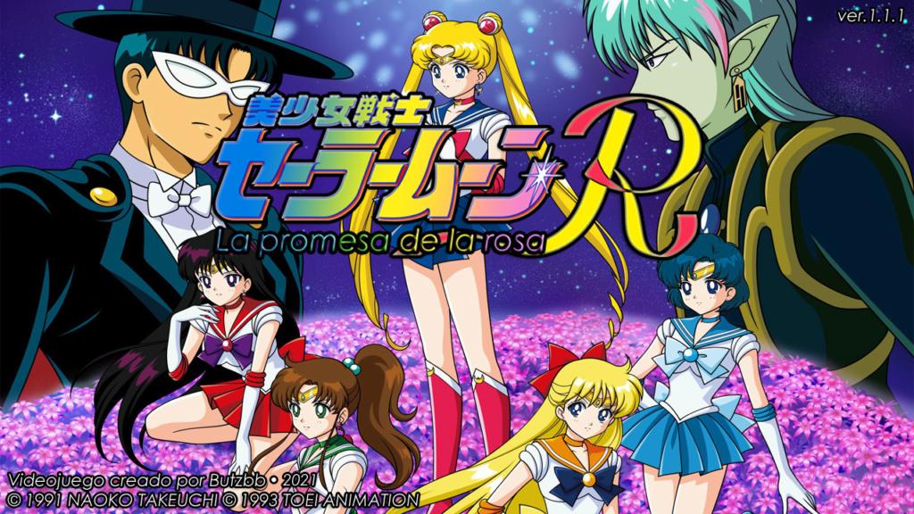 [RPG Maker MV] Sailor Moon R The Movie RPG Title410