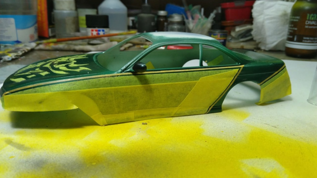 MeC: Nissan Silvia S14 Samurai Fujimi 1/24 Img-2012