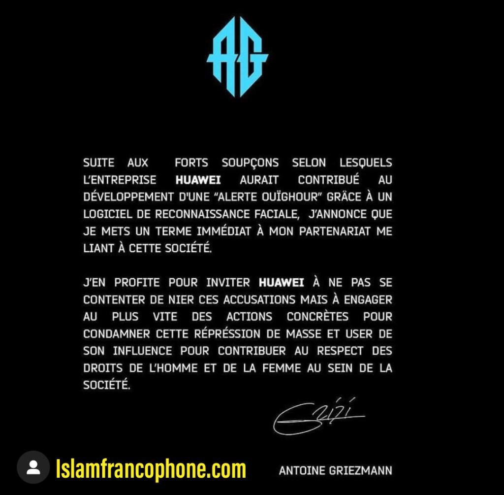 Antoine Griezmann annule son contrat avec Huawei Psx_2014
