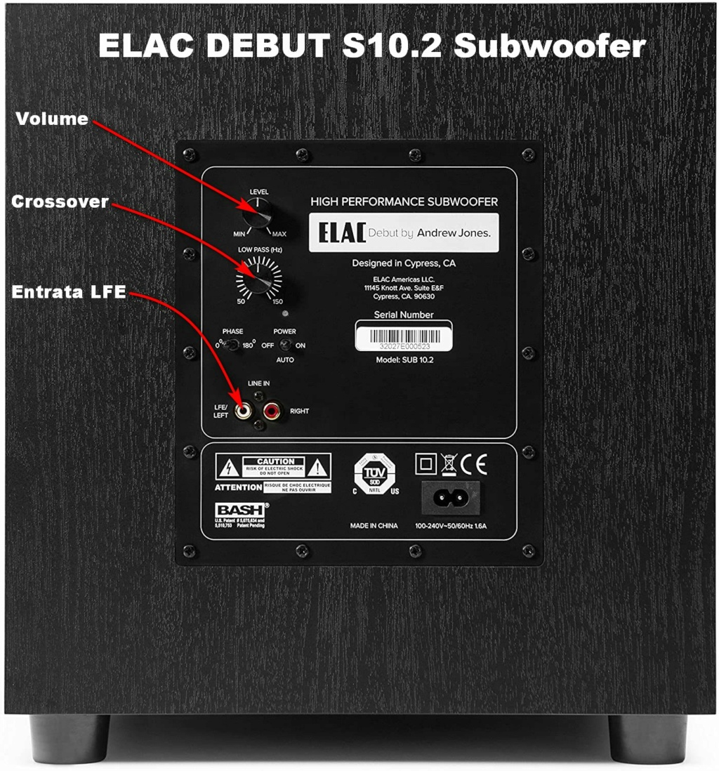 [TP + Sped.] Vendo AIYIMA D03 amplificatore in classe D , Nuovo Elac_d10