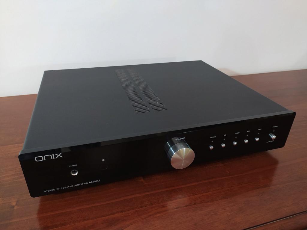 [TP + Spedizione] Vendo Onix A55 MKI Amplificatore integrato Img_2065