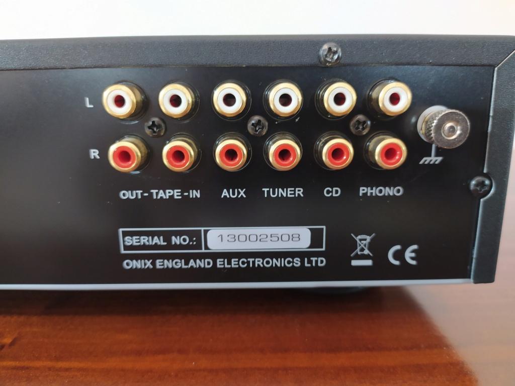 [TP + Spedizione] Vendo Onix A55 MKI Amplificatore integrato Img_2069