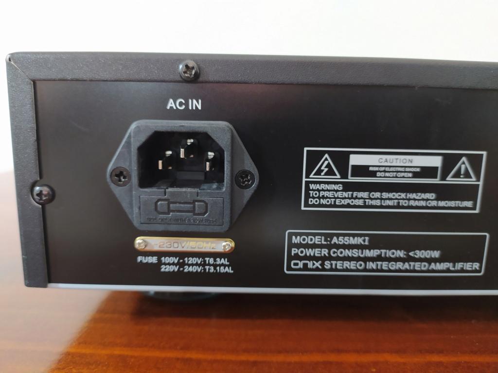 [TP + Spedizione] Vendo Onix A55 MKI Amplificatore integrato Img_2072