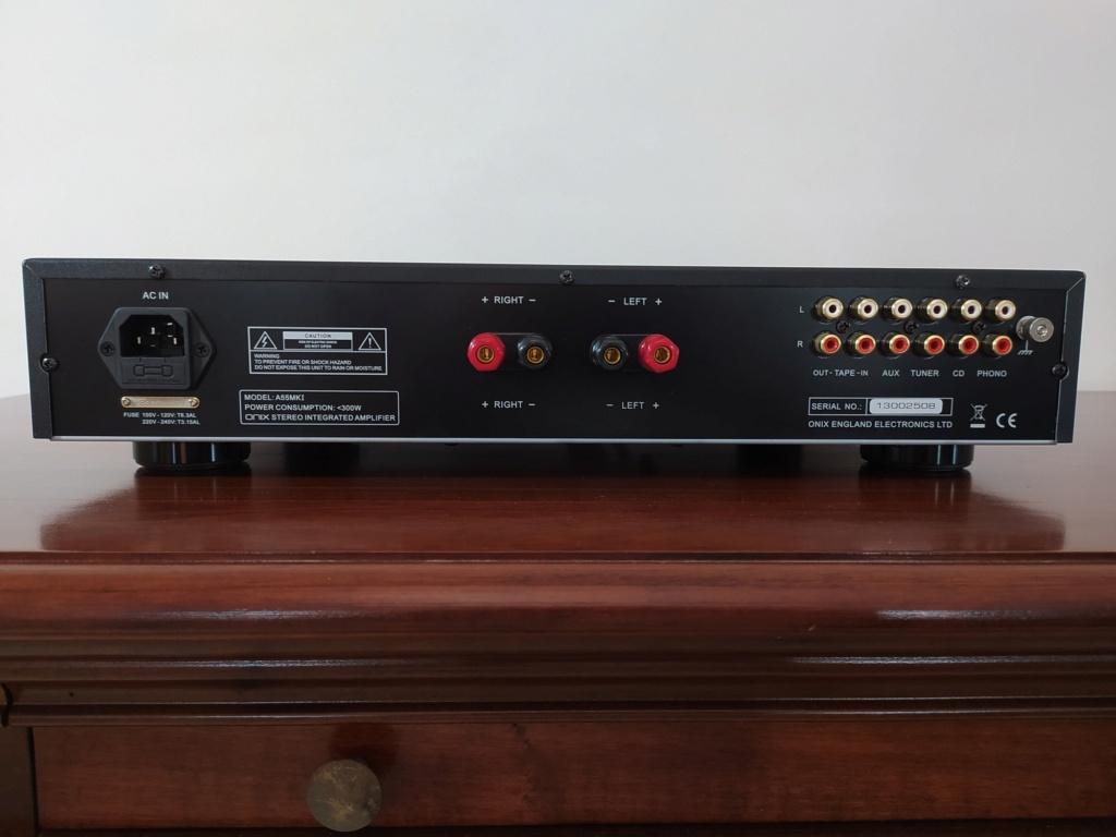 [TP + Spedizione] Vendo Onix A55 MKI Amplificatore integrato Img_2073