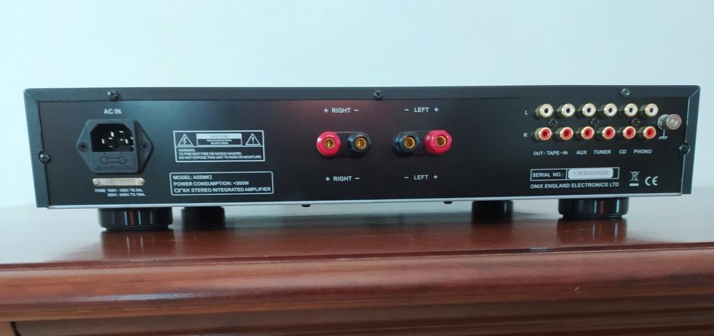 [TP + Spedizione] Vendo Onix A55 MKI Amplificatore integrato Img_2074