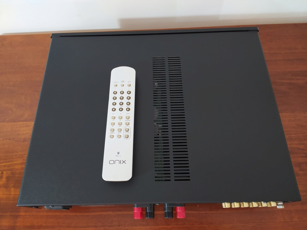 [TP + Spedizione] Vendo Onix A55 MKI Amplificatore integrato Img_2075